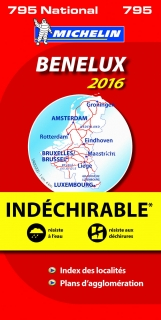 795 Benelux High Resistance 2016 1:400t mapa MICHELIN